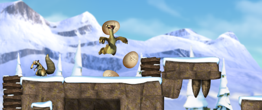<i>I designed 15 levels for the official Ice Age 3 iOS game while working at Two Tribes</i>
