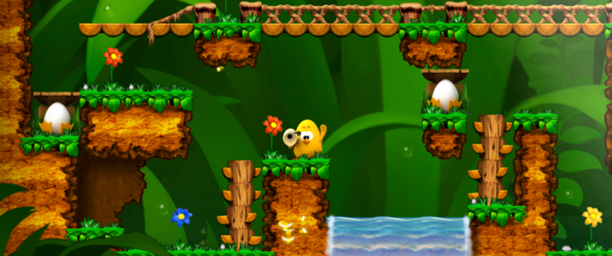<i>I designed over 20 levels for puzzle platformer Toki Tori while working at Two Tribes</i>
