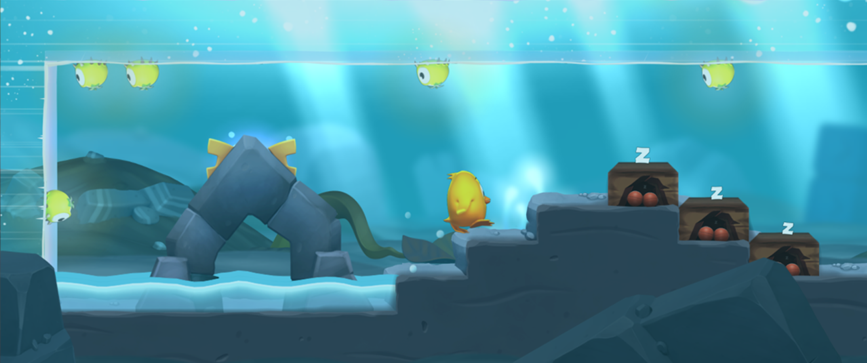 <i>I created quite some backgrounds for Two Tribes' latest game Toki Tori 2</i>
